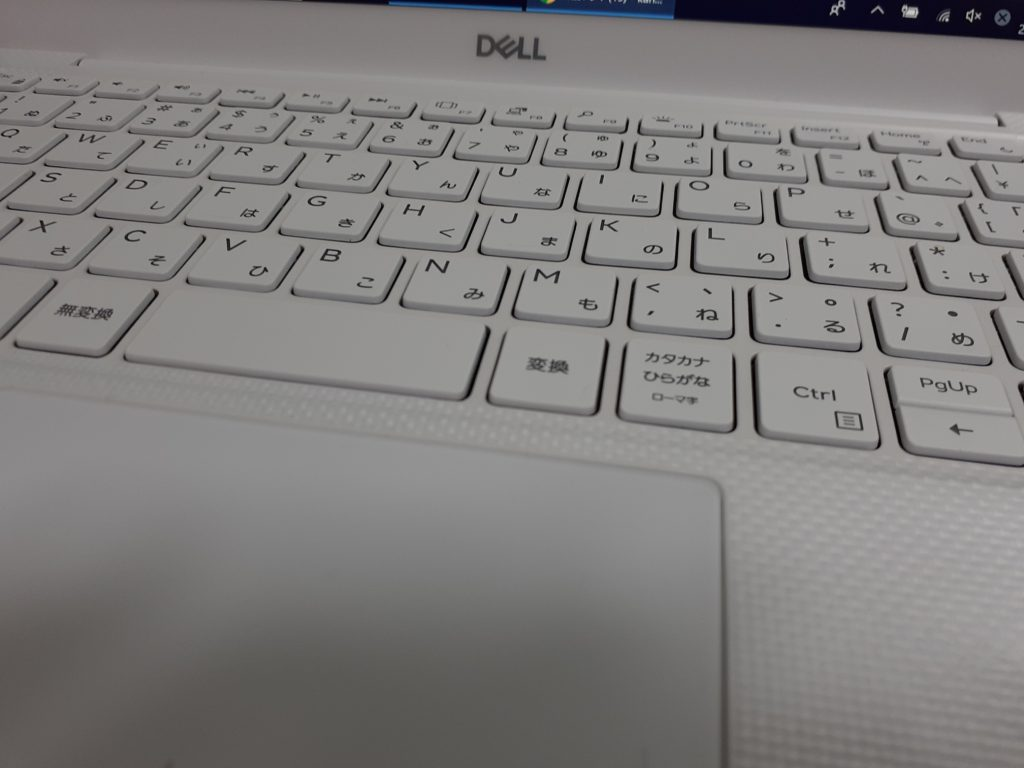 XPS13キーボード